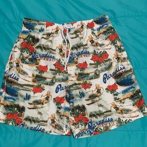 Men's Hawaiian swim suit by Trader Bay